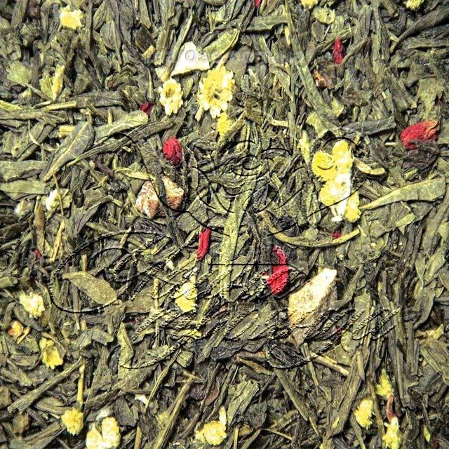 Зелений ароматизований чай «Дюшес»
