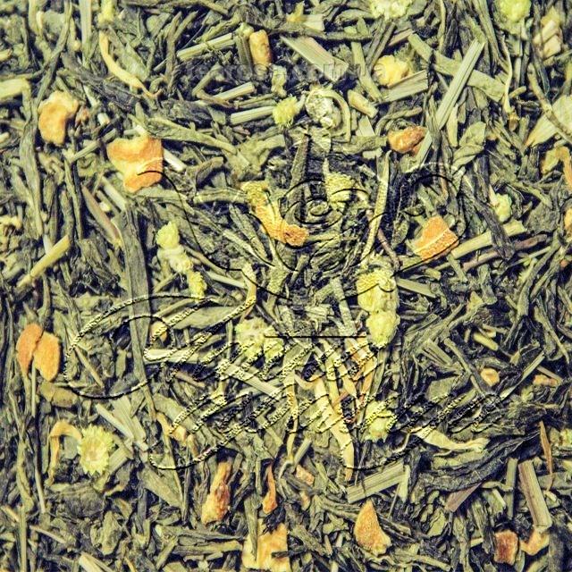 Зелений ароматизований чай «Тайський лимон»