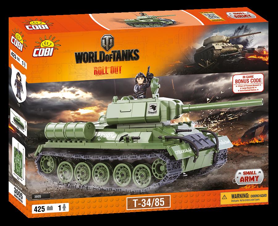 Конструктор Cobi World Of Tanks A34 Комета (COBI-3014) (5902251030148)