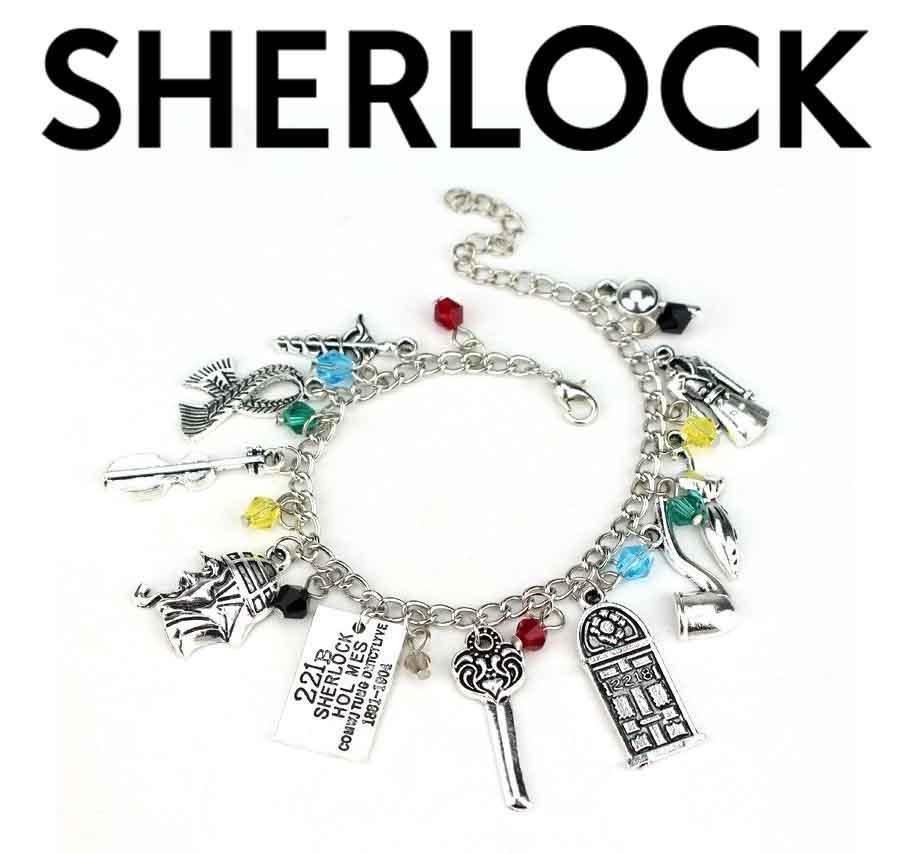 Браслет с подвесками Шерлок Sherlock