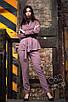 Женский брючный классический костюм с кардиганом 27ks1002, фото 3