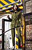 Женский брючный классический костюм с кардиганом 27ks1002, фото 4