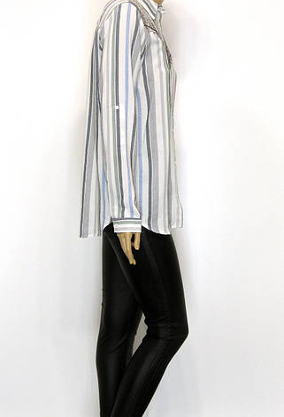 Жіноча сорочка в полоску, фото 2