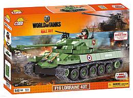Конструктор Cobi World Of Tanks F19 Лоррейн 40T 540 деталей (COBI-3025) (5902251030254)