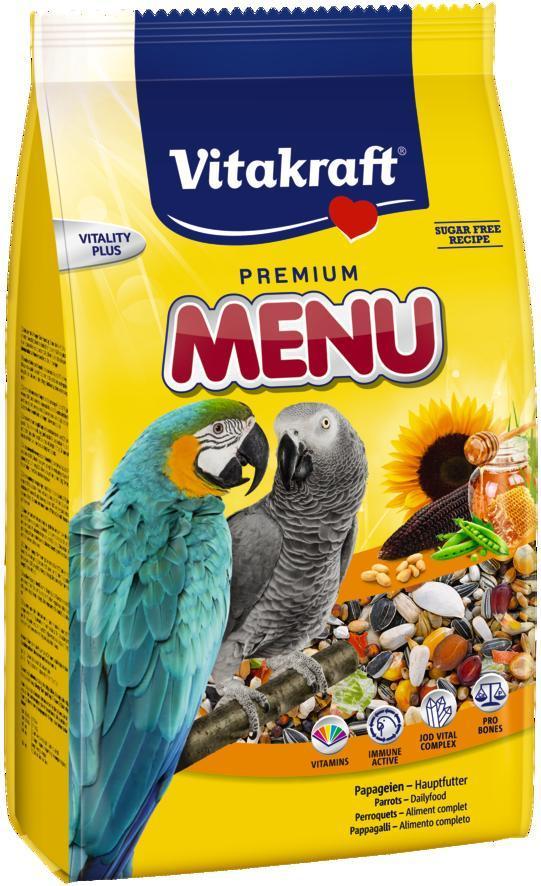 Корм для великих папуг Vitakraft Ара Меню 1 кг