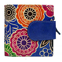 Женский кожаный кошелек SPG-98 Shanti Blue, фото 1