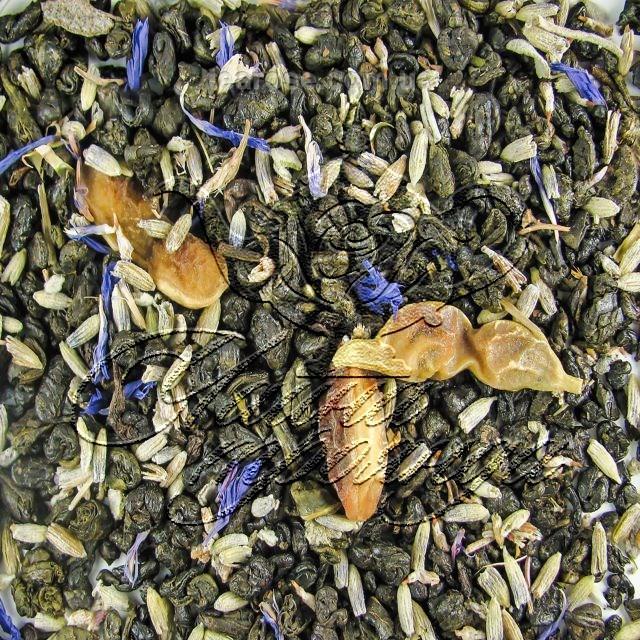 """Зелений ароматизований чай """"Гірський чай """""""