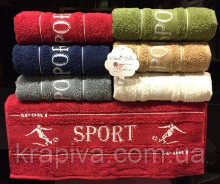 Полотенце рушник Спорт 140*70, хлопок