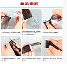 Двухстороння липкая лента для наращивания волос, для парика, накладки, фото 5