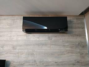 Монтаж дизайнерского кондиционера Mitsubishi Electric серии Design Inverter -1