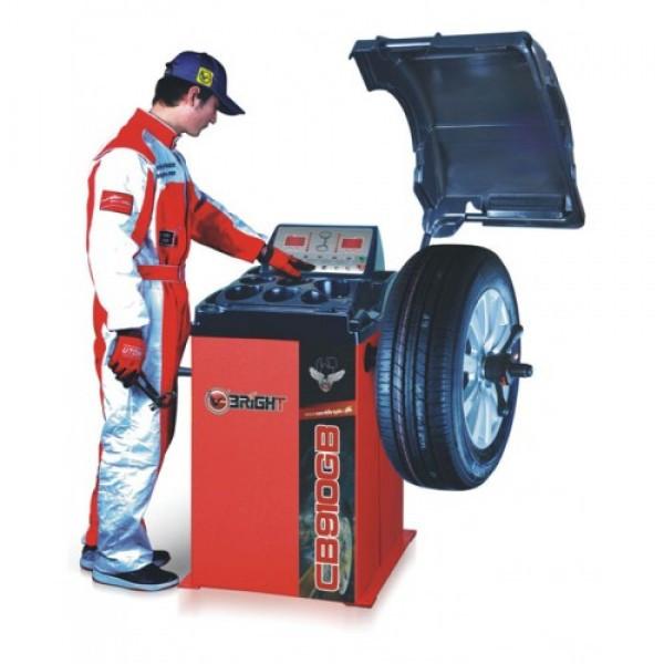 Балансировочный станок (вес колеса 65 кг) 220V Bright CB910GB