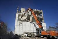 Демонтаж зданий под ключ