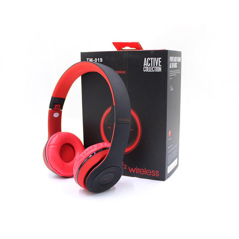 Навушники Beats Solo2 HD Bluetooth Tm-019 з MP3, FM радіо, гарнітура (червоні) CG08