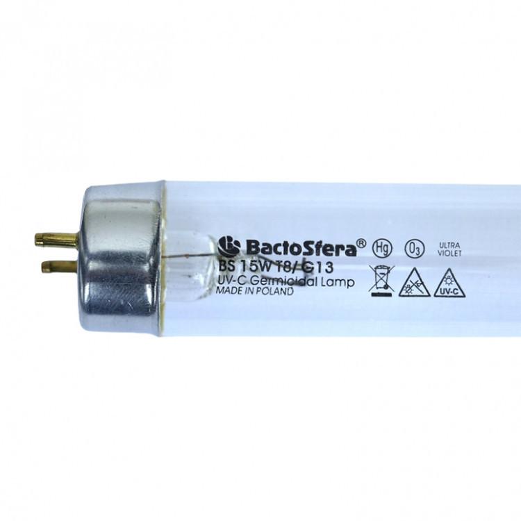 Бактерицидная лампа озоновая BactoSfera BS 15W T8/G13 (Польша)