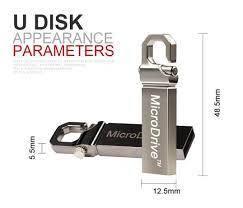 Флешка карабін MOWEEK. Флеш накопичувач. USB флешка MOWEEK на 64 GB. Металева флешка карабін