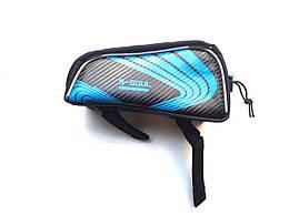 Велосипедный чехол-сумка для телефона.