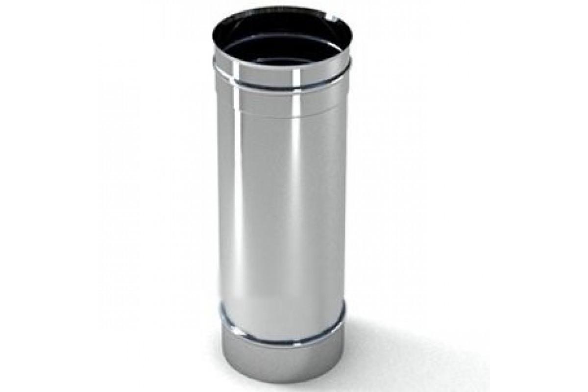 Труба дымоходная из нержавеющей стали 0,8мм L=0,3м диам.