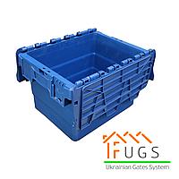 Пластиковый контейнер с крышкой 300x400x320 мм, фото 1