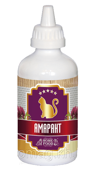 Масло Амарант для кошек (500 мл.) Home Food™