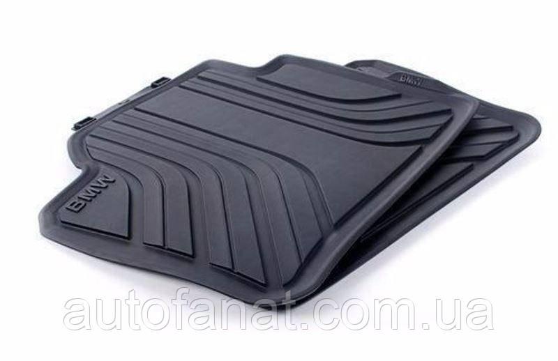 Оригинальные задние коврики салона BMW 1 (F20, F21) (51472210210)