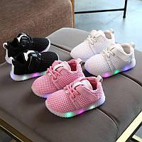 Кроссовки детские светящиеся, обувь со светоидной подсветкой