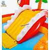 """Детский надувной центр с горкой """"Счастливый Динозавр"""" Intex 57160, фото 3"""