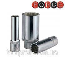 """Головка 12-гранная длинная 1/2"""", 10 мм (Force 5497710)"""
