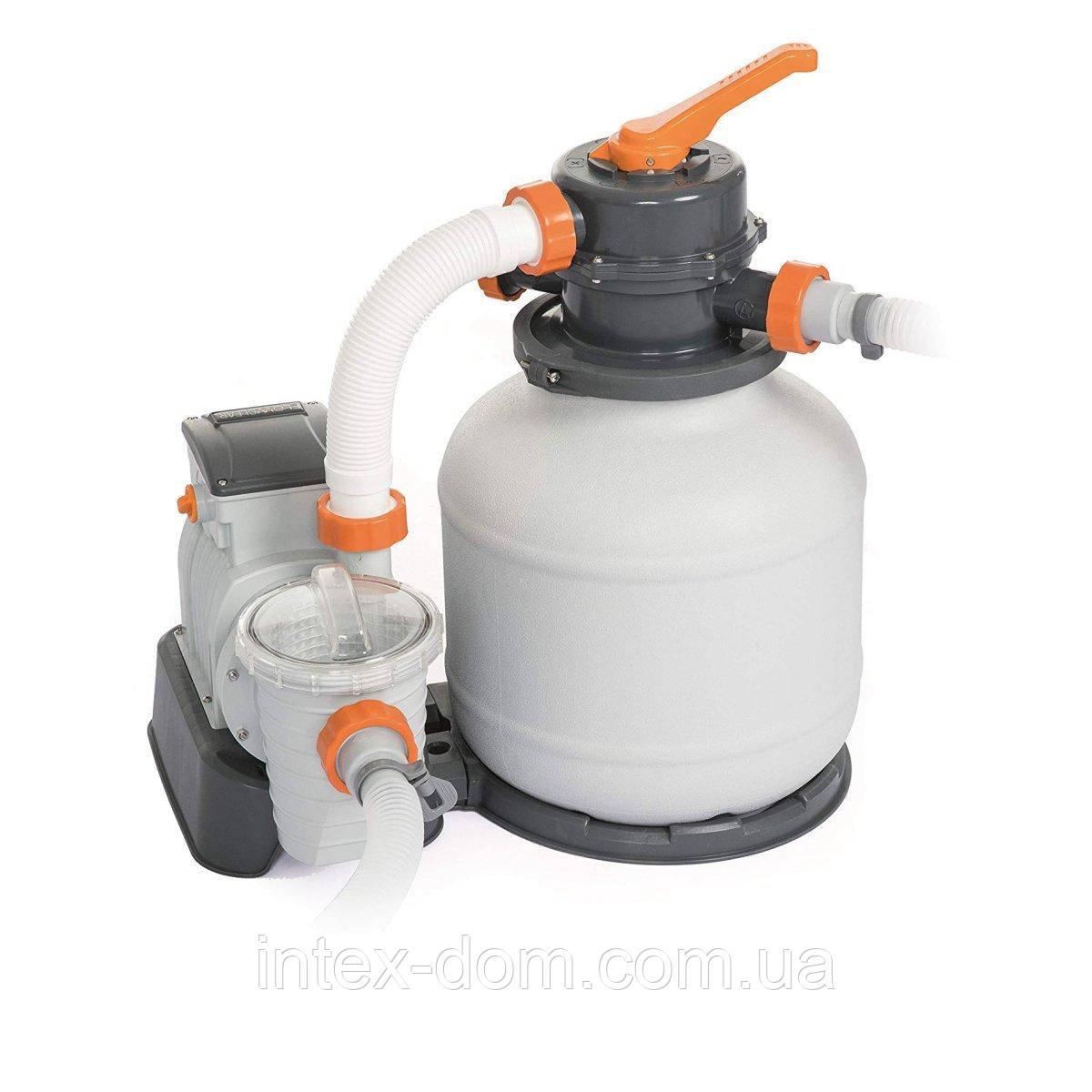 Песочный фильтр насос Bestway 58495 (3 785 л/час)
