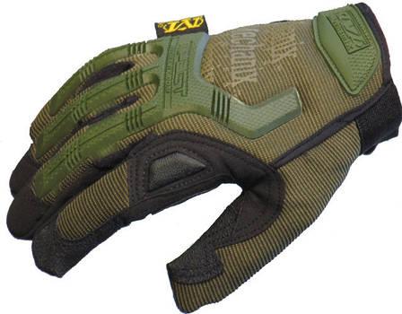Тактические перчатки Mechanix Contra PRO. - Khaki M (Mex-oliv-m), фото 2