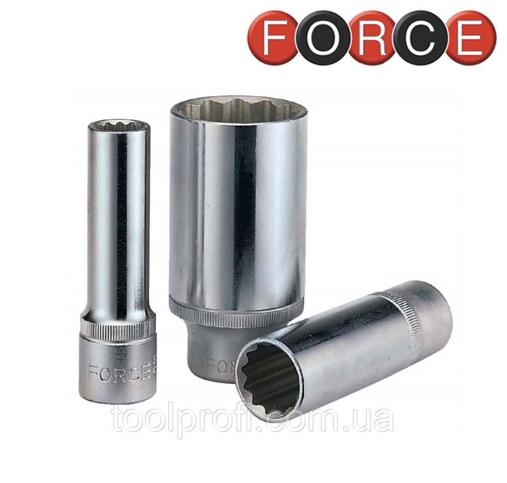 """Головка 12-гранная длинная 1/2"""", 16 мм (Force 5497716)"""