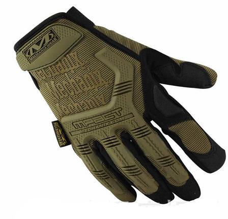 Тактические перчатки Mechanix Contra PRO - coyote (Mex-coyot-L), фото 2
