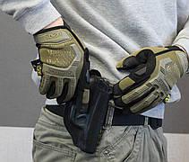 Тактические перчатки Mechanix Contra PRO - coyote (Mex-coyot-L), фото 3