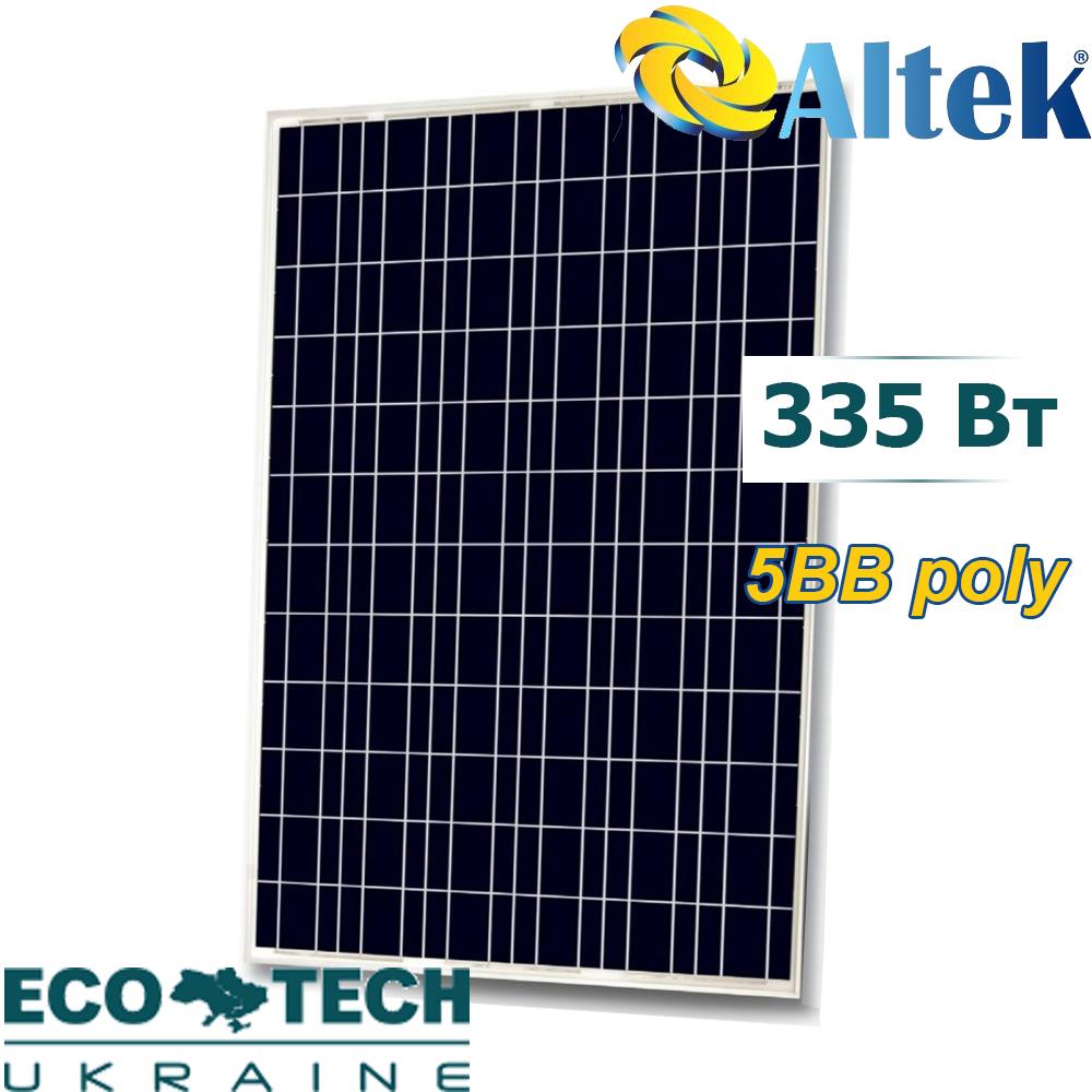 Солнечная панель Altek ALM72-6-335P поликристалл