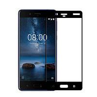 Защитное цветное стекло Mocolo (CP+) на весь экран для Nokia 8 Dual SIM