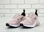 Женские кроссовки Air Max 270 pink. Живое фото, фото 3
