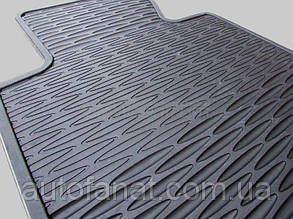 Коврики BMW 3 (E46) передние оригинальные резиновые в салон (82559408540)