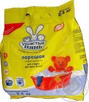 Ушастий нянь Порошок стиральный для стирки детского белья 2.4кг