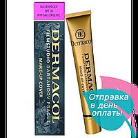 Тональный крем Dermacol filmstudio barrandov prague SPF 30, 30 мл (тон 210)