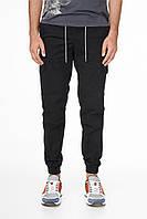 Мужские штаны карго спортивные черные CARGO DIDIM BLACK, фото 1