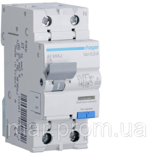 Дифференциальный автоматический выключатель 1P + N 6kA C-6A 300mA A
