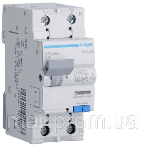 Дифференциальный автоматический выключатель 1P + N 6kA C-16A 300mA A