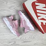 Женские кроссовки Nike Huarache (розовые), фото 2
