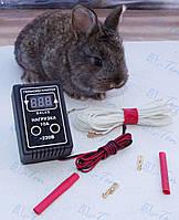 Комплект - цифровой терморегулятор Далас 10 А с гибким силиконовым тэном 45Вт (Украина)
