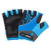 Велорукавички PowerPlay 5281 B Блакитні XS, фото 4