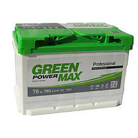 Аккумуляторная батарея  78 а/ч АЗЕ Green Power Max (Евро)
