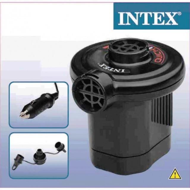 Насос электрический Intex 66626 от прикуривателя 12В, 600л/мин