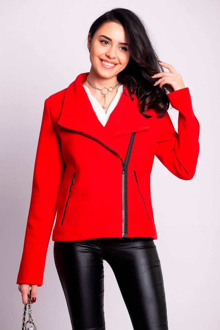 Красный косуха-пиджак HONEY