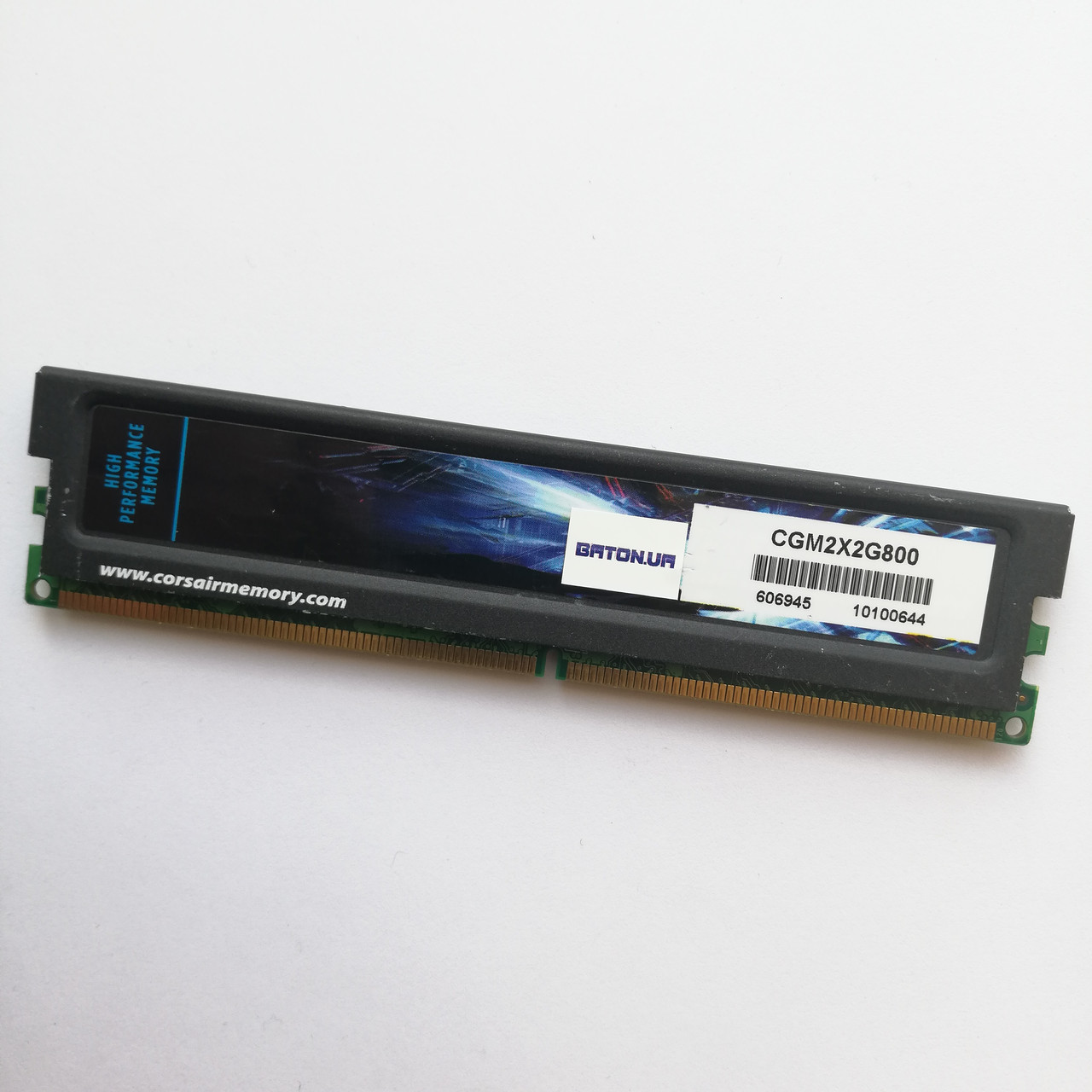 Игровая оперативная память Corsair DDR2 2Gb 800MHz PC2 6400U CL5 (CGM2X2G800) Б/У