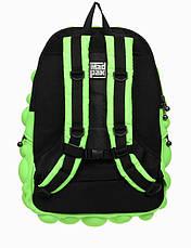 Рюкзак MadPax Bubble Full цвет Neon Green (зеленый неон), фото 3