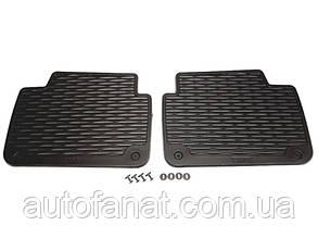 Коврики BMW 3 (E46) задние оригинал резиновые в салон (82559408541)